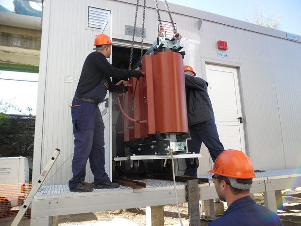 Factory tests of switchgear 6 kV