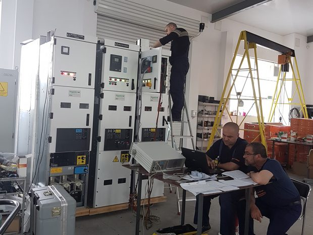 Installation of transformer 6 / 0,4 kV