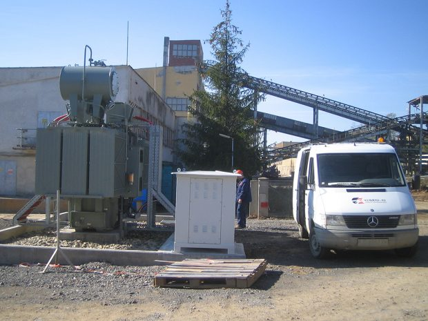 Setup and commissioning of transformer 6/10 kV