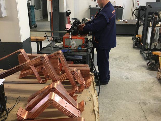 Busbar machining