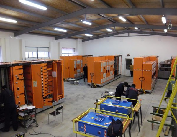 Manufacture of portable mining Motor Control Centers (MCC)