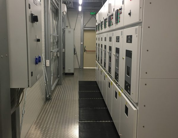 Transportable industrial complete MV substations