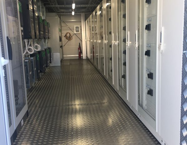 Transportable industrial complete LV substations